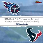 Titans vs Texans: Week 15 Primer