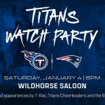 Titans Official Playoff Watch Party at Wildhorse Saloon