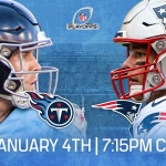 Titans at Patriots: Wildcard Weekend Info