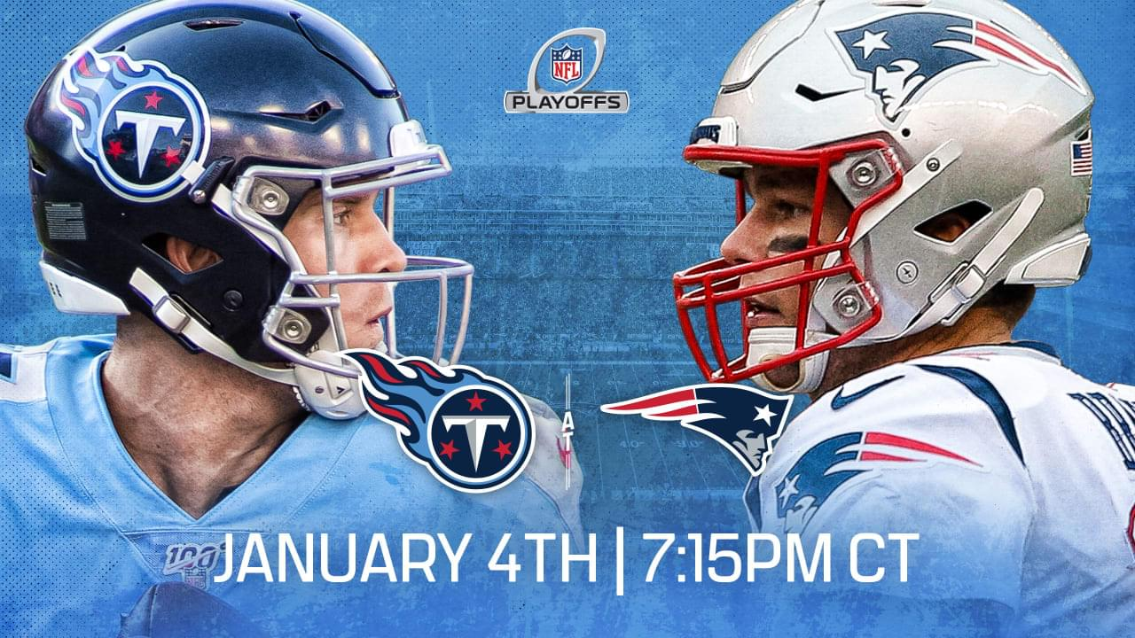 Image result for titans patriots wildcard weekend