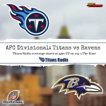Titans at Ravens: Divisional Round Game Day Info