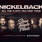 """Enter to Win Tickets to the """"All the Right Reasons"""" Tour, starring Nickelback!"""