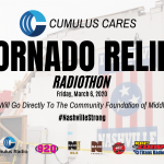 Cumulus Nashville And Edley's Bar-B-Que Team Up For Cumulus Cares Tornado Relief Radiothon
