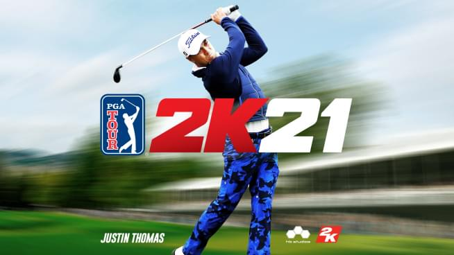 PGA TOUR 2K21 Key Art