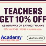 Nominate An Amazing Local Coach or Teacher
