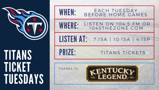 Titans Ticket Tuesdays
