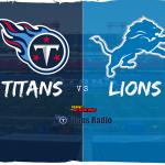 Titans vs Lions: Week 15 Primer