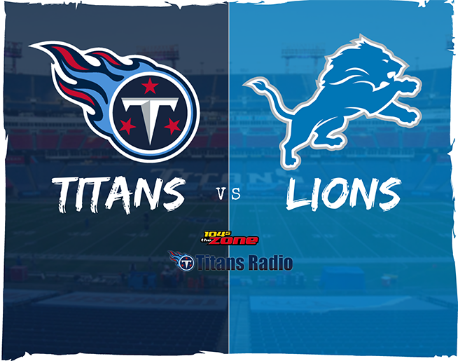Titans vs Lions: Week 15 Primer