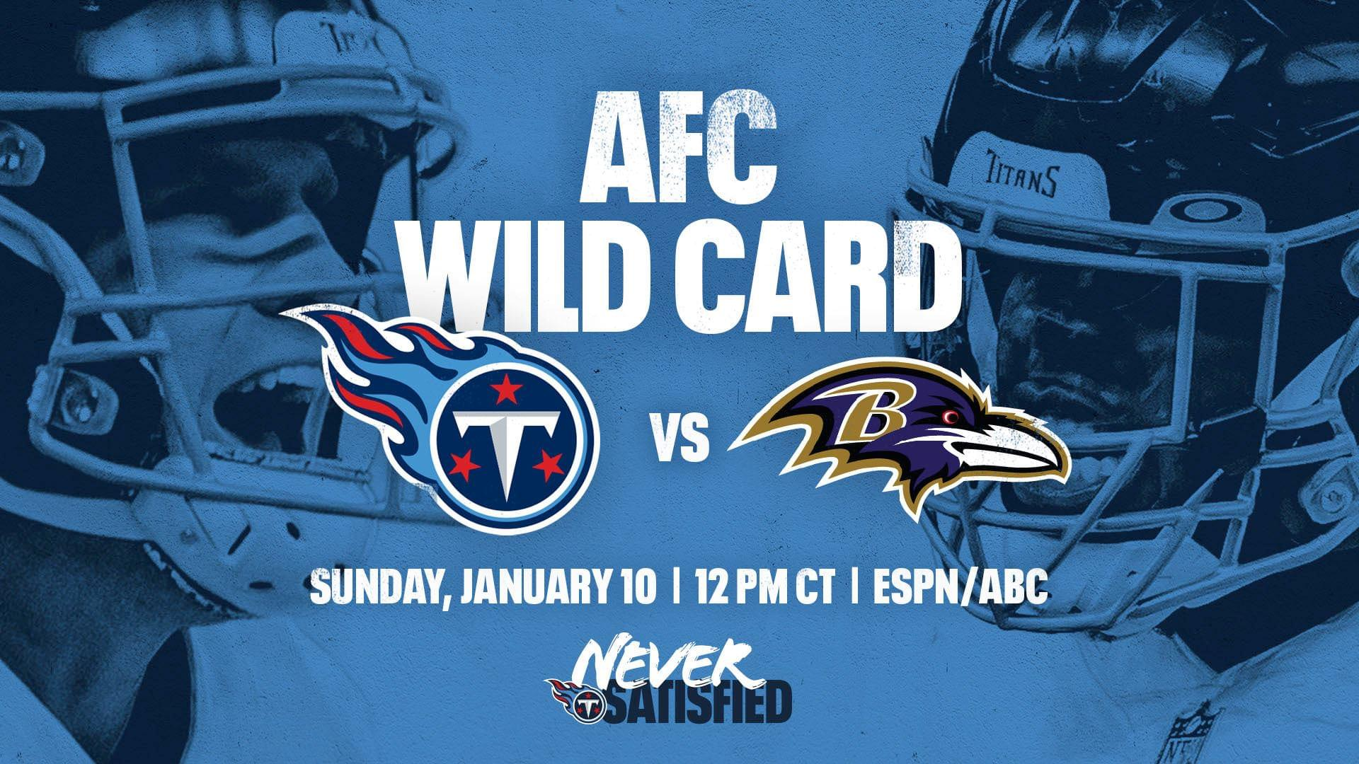 Titans vs Ravens: Wild Card Weekend Primer