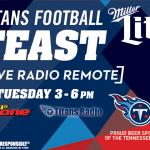 Titans Football Feast
