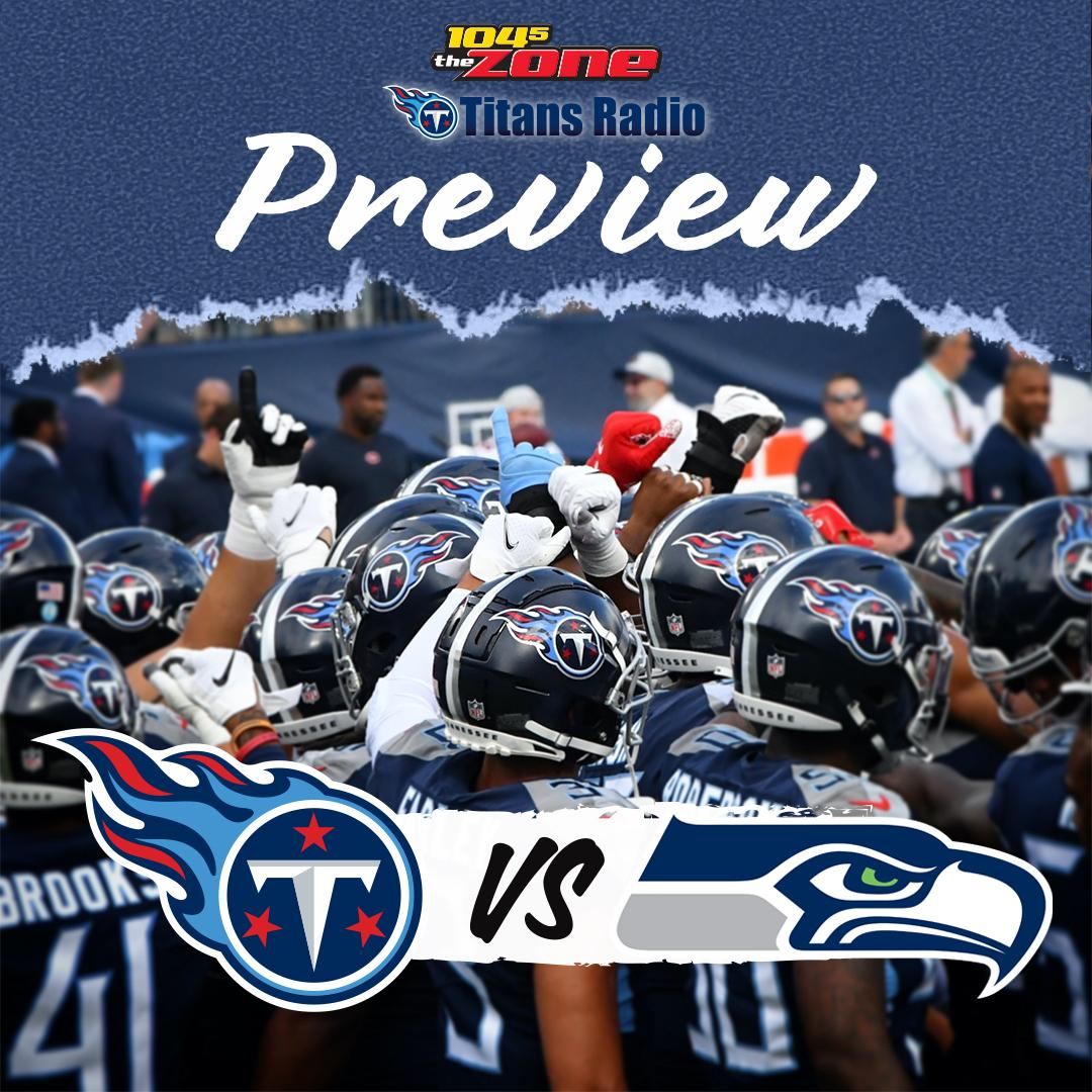 Titans vs. Seahawks: Week 2 Primer