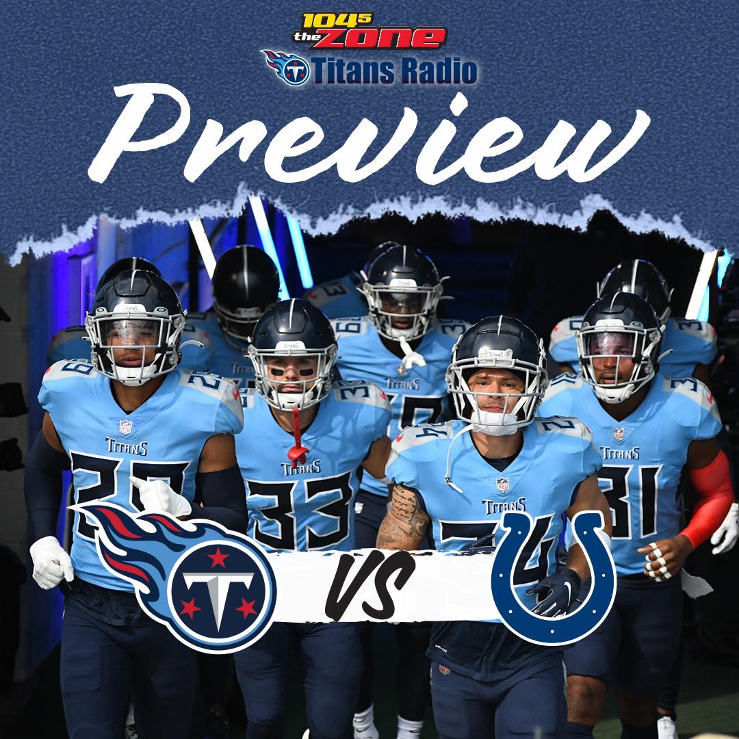 Titans vs. Colts: Week 8 Primer
