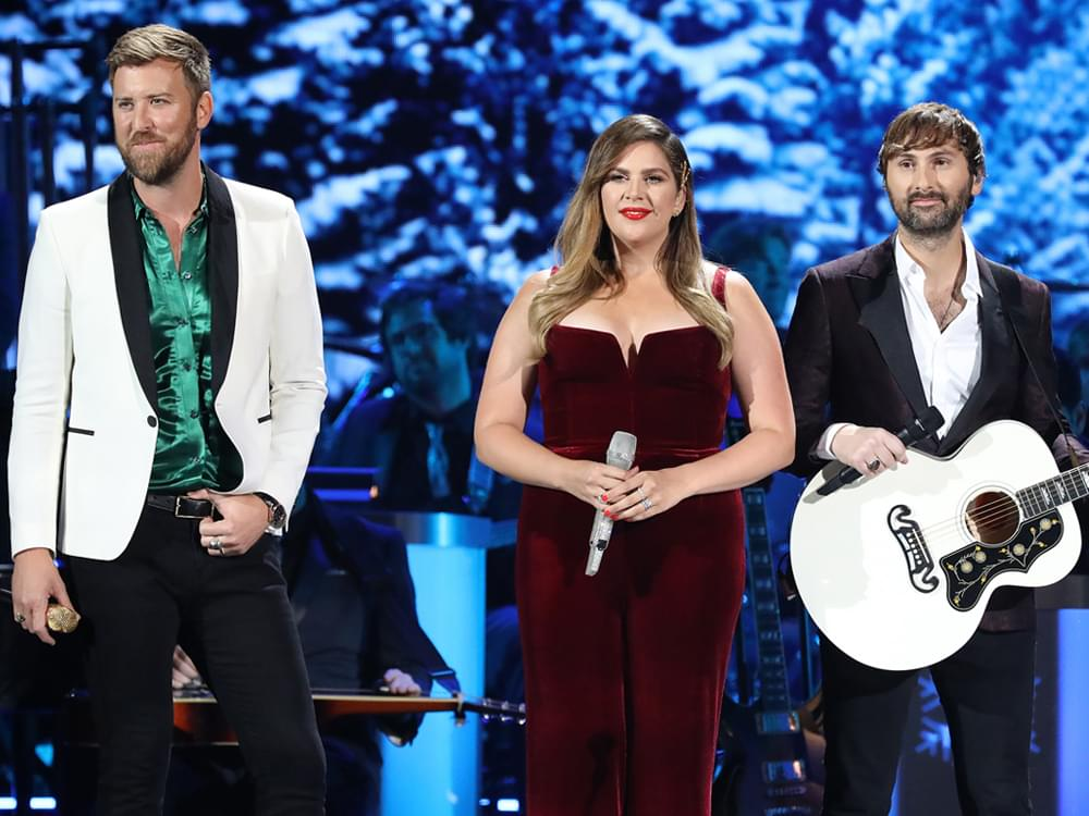 "Lady Antebellum Honored With ""Angels Among Us Award"" by St. Jude Children's Hospital"