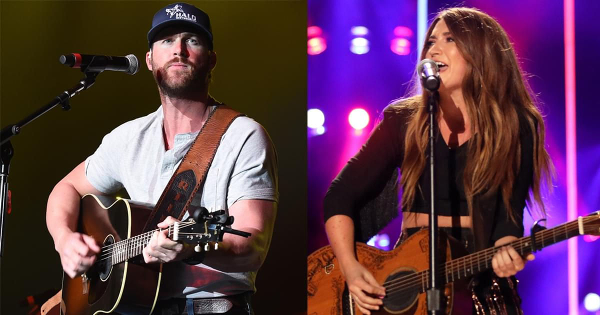 Tenille Townes & Riley Green Presented With ACM Awards During Opry Show