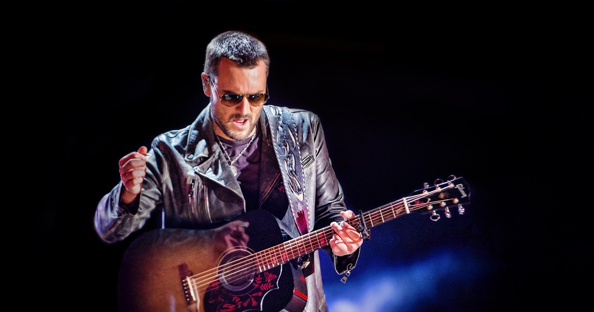 """Eric Church Has a """"Hell Of A View"""" in the Number-1 Spot"""