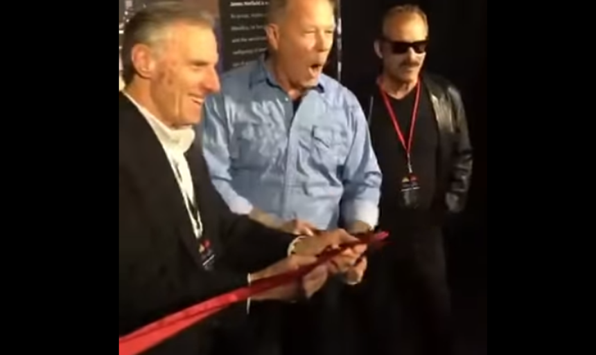 Video of James Hetfield's First Public Appearance Since Rehab