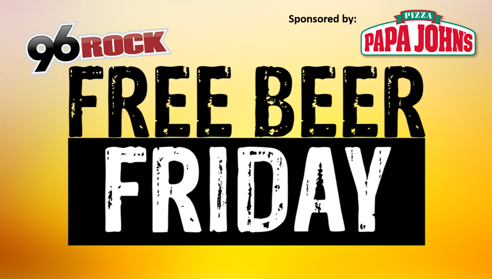 Free Beer Friday_Papa Johns