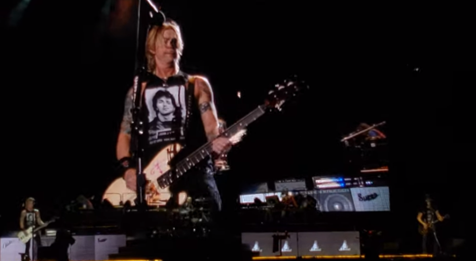 "Guns and Roses Play Deep Cut ""So Fine"" Live for the First Time in 27 Years (Video)"