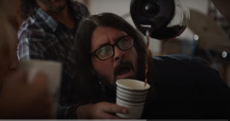 Struggling With a Caffeine Addiction? Dave Grohl is Here to Help…. Sort Of (Video)