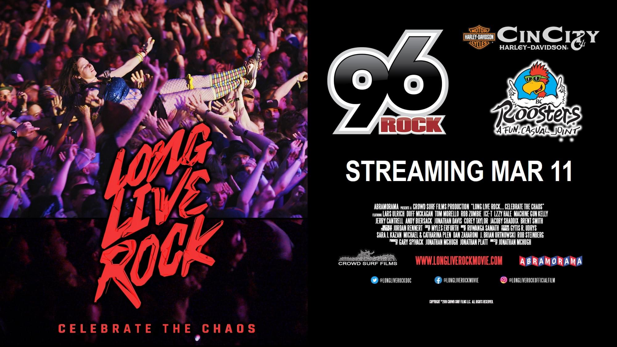 Long Live Rock Art HD Roosters