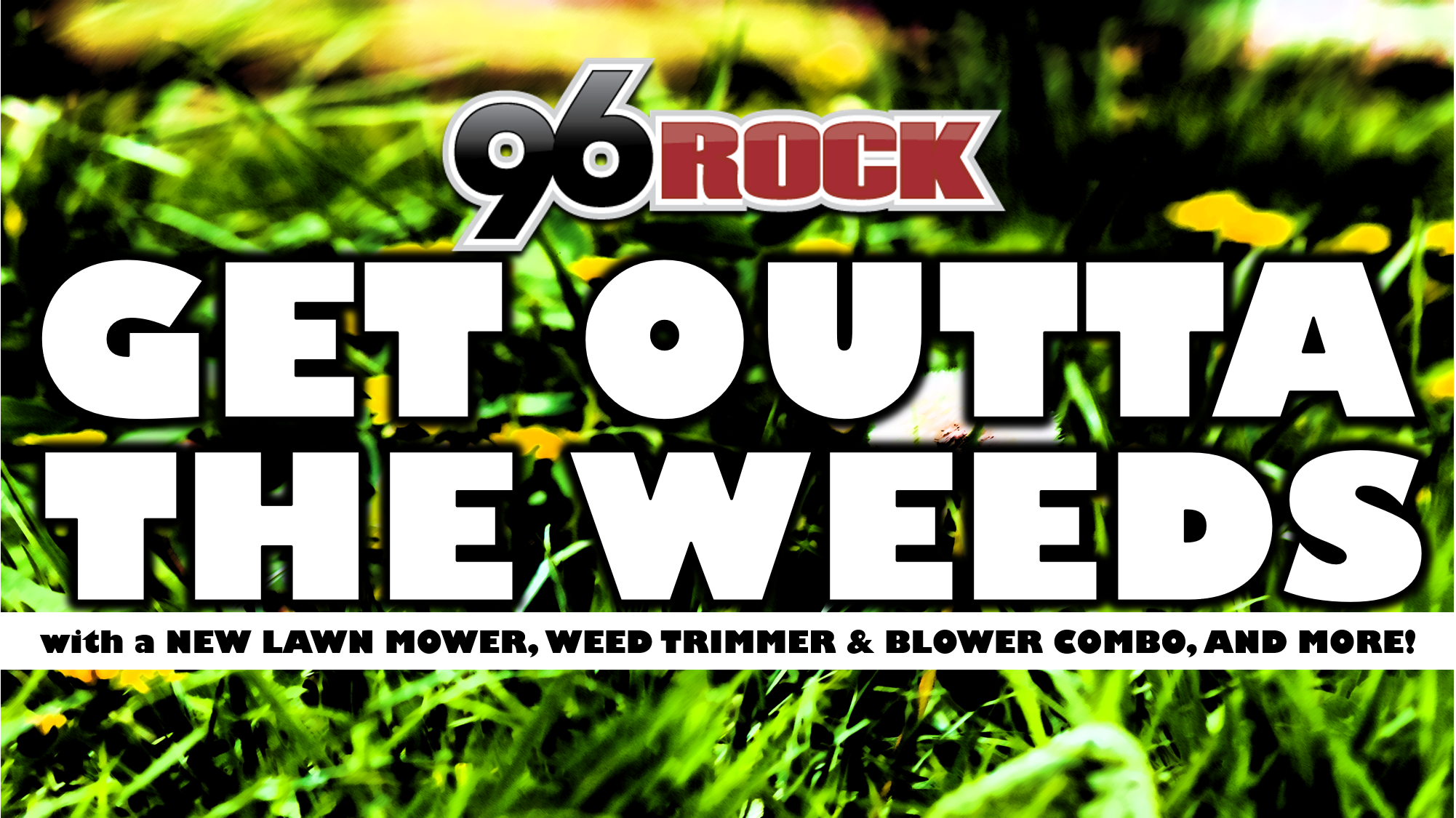 Get Outta The Weeds
