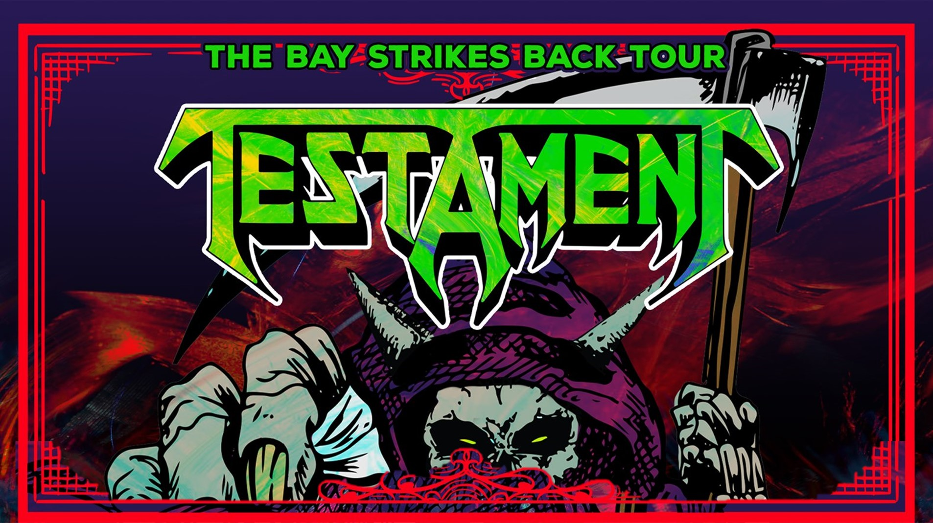96ROCK's The Heavy Welcomes Testament