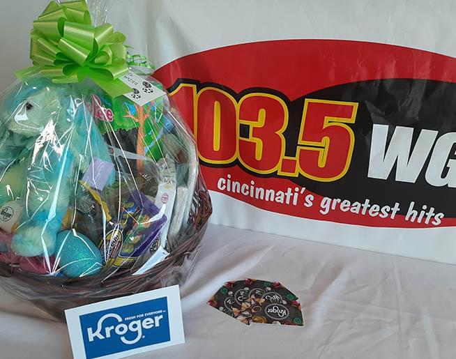 Win an Easter basket from Kroger!
