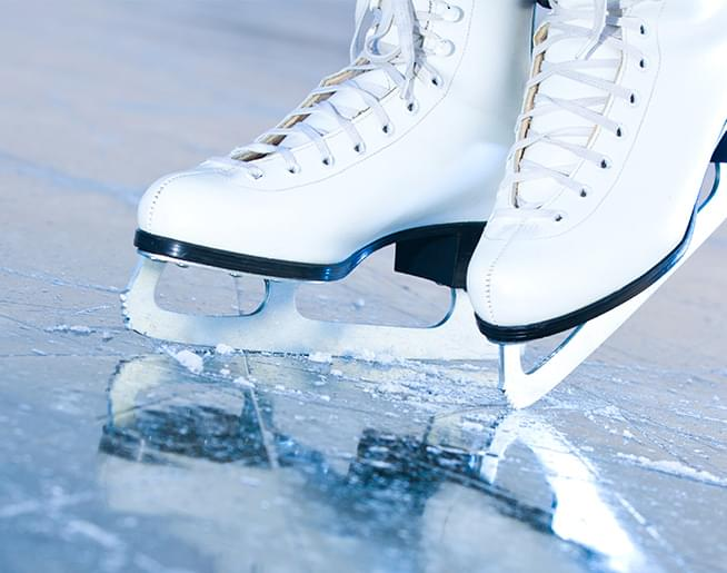 The Fountain Square Ice Rink is open!