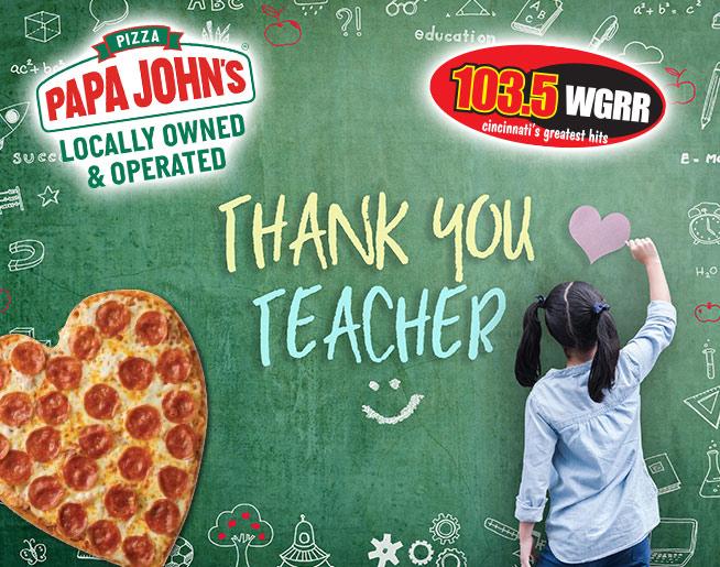 Papa John's Teacher Appreciation