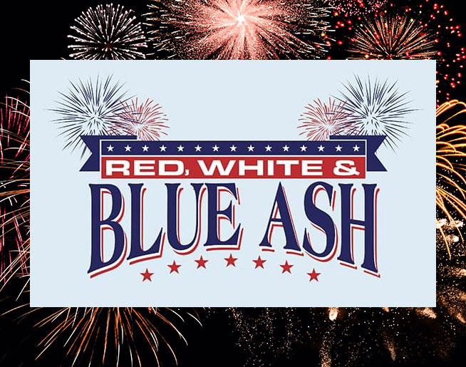 Red, White and Blue Ash 2021