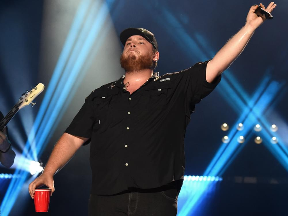 """Luke Combs Makes History With 6th Consecutive No. 1 Single """"Beer Never Broke My Heart"""""""