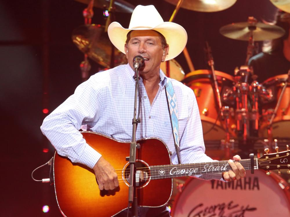 """Listen to George Strait's Heavy New Single, """"The Weight of the Badge"""""""