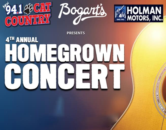 4th Annual Homegrown Concert