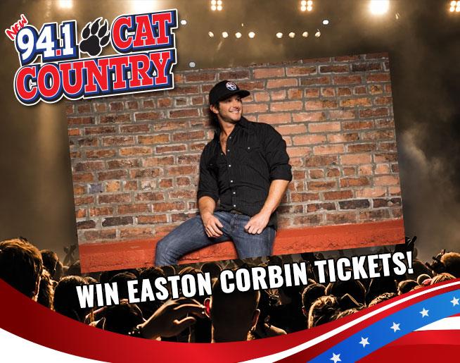 Win Easton Corbin Tickets