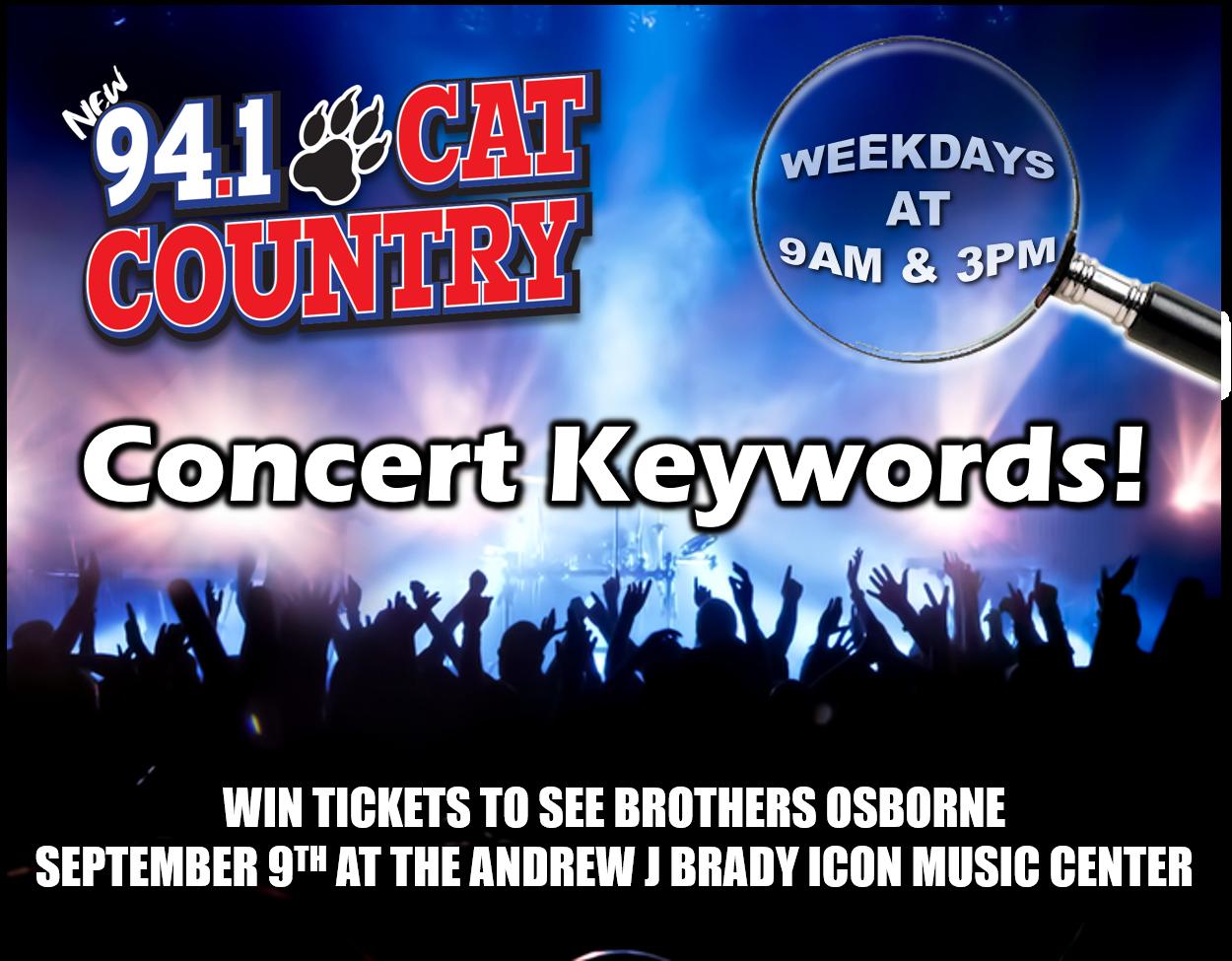 Concert Keywords