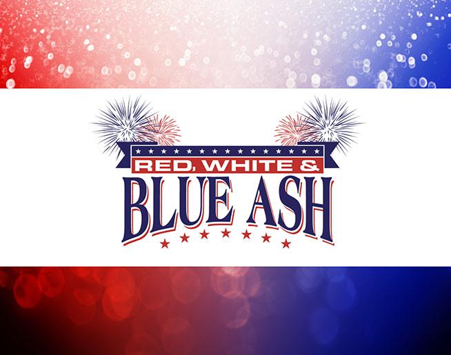 Red White & Blue Ash!