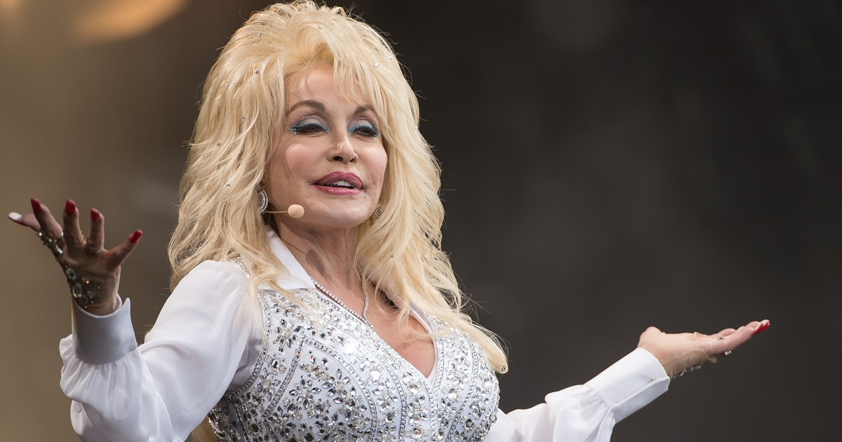 Dolly Parton Recreates Her 1978 Iconic Playboy Cover for Her Husband's Birthday