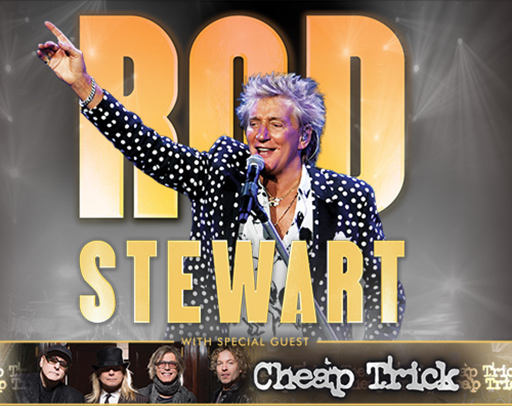 The FOX Welcomes Rod Stewart with Cheap Trick
