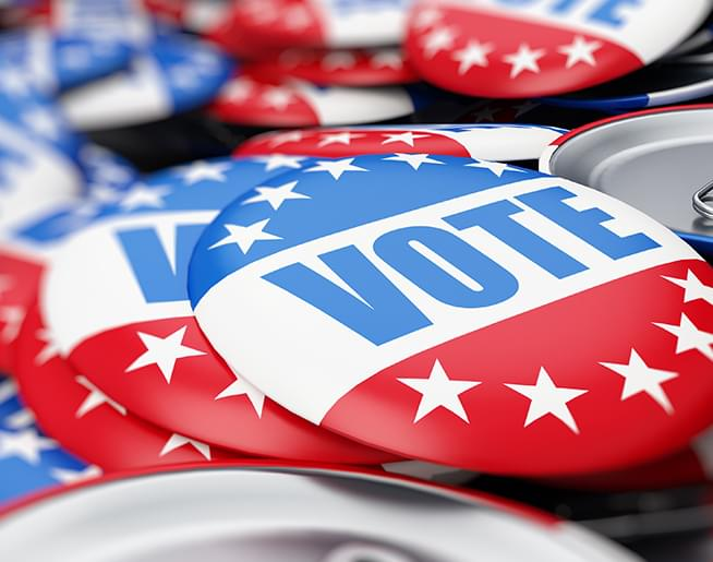 Vote – Election Day is November 3rd