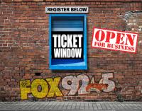ticket window open for business