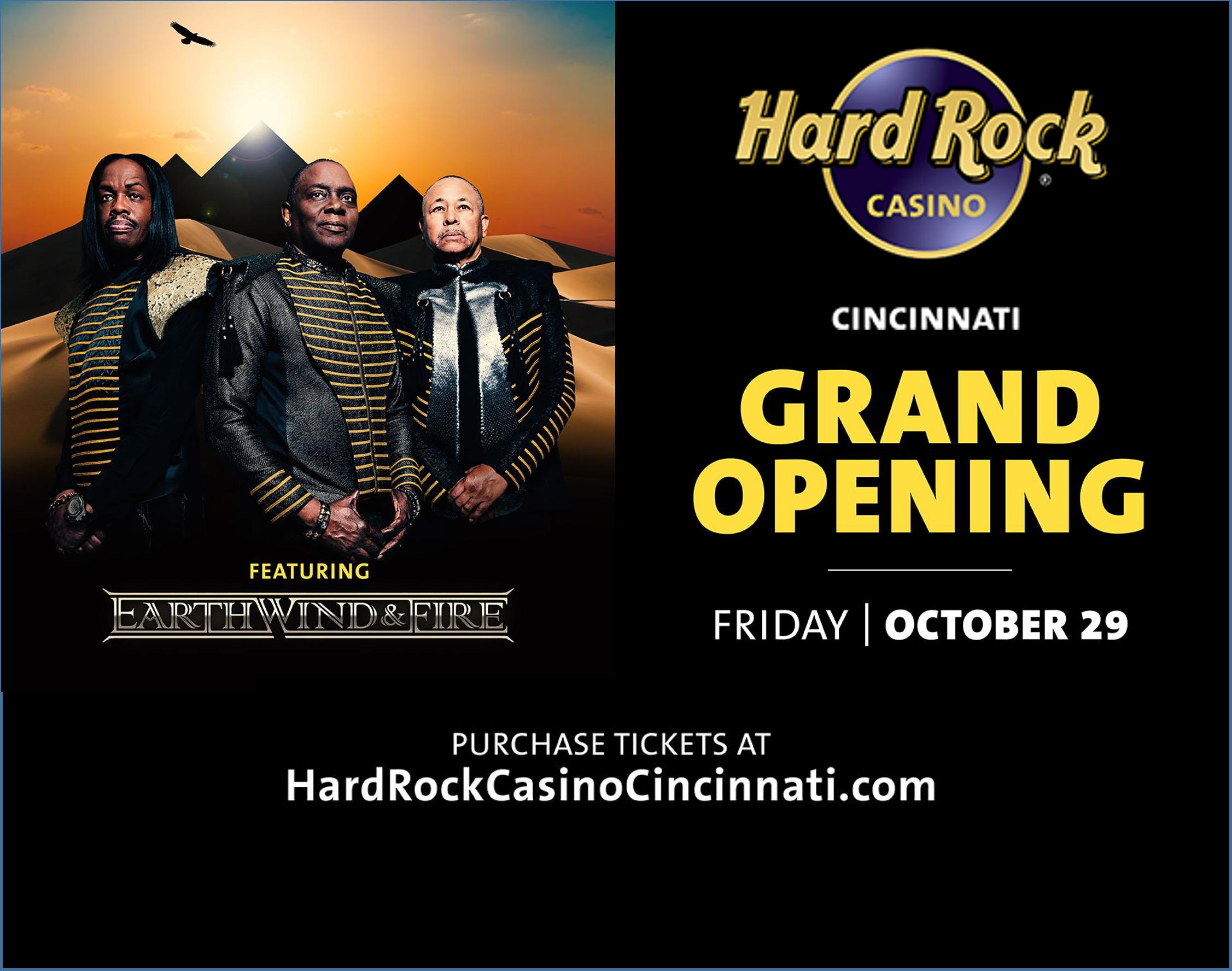 Hard Rock Cincinnati – Grand Opening