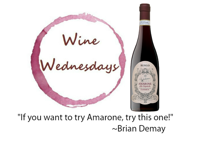 Brian's Wine Wednesday: Rengo Amarone