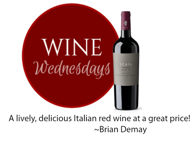 Brian's Wine Wednesday: Scaia Corvina