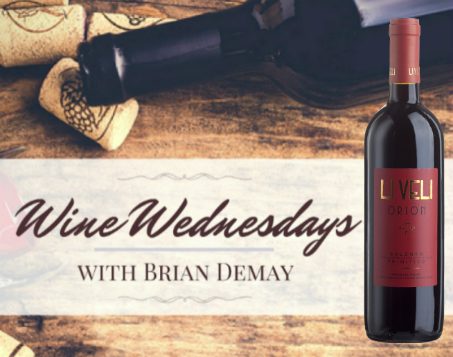Brian's Wine Wednesday: Orion Primitivo