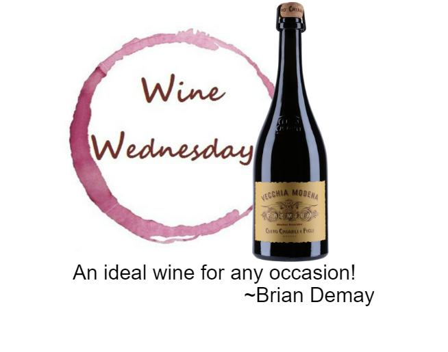 Brian's Wine Wednesday: Cleto Chiarli Premium Lambrusco