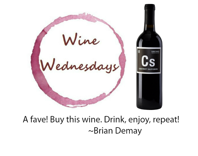 Brian Demay's Wine Wednesday: CS Substance Cabernet Sauvignon