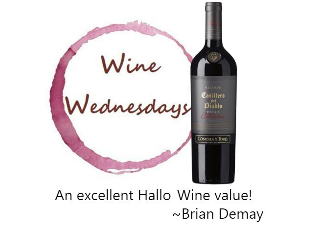 """Brian's Hallo-Wine Wednesday: Casillero del Diablo """"Devil's Red"""""""