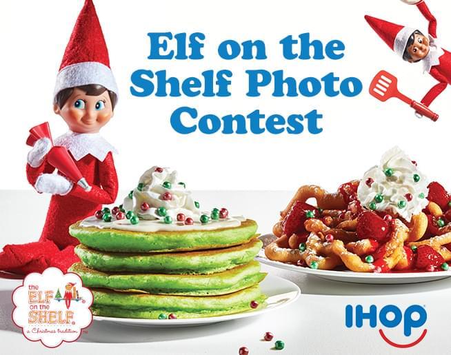 Elf on the Shelf Photo Contest: Sponsored by IHOP