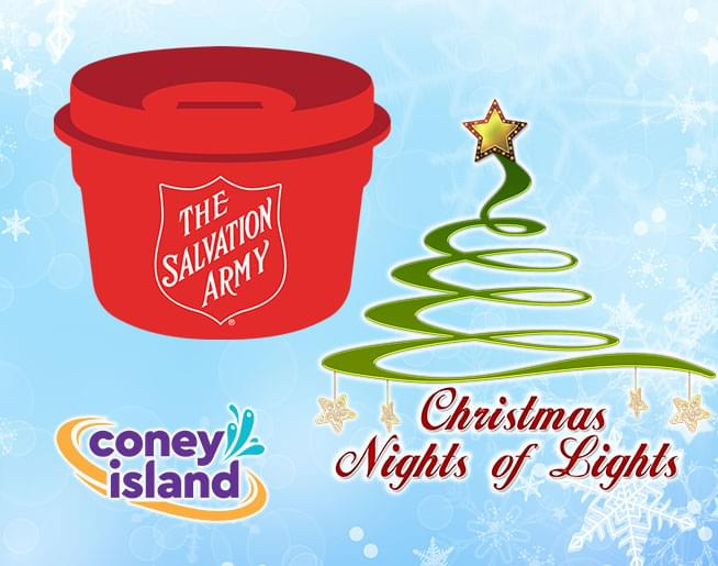 Help the Salvation Army at Coney Island's Christmas Nights of Lights!
