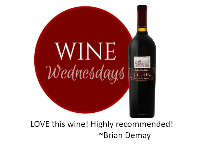 Brian Demay's Wine Wednesday: J. Lohr Seven Oaks Cabernet